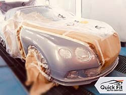 Bentley Accident Repair And Repaint at Quick Fit Auto Body Shop