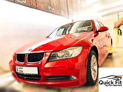 BMW Serviced At Quick Fit Auto Center With Free Car Wash