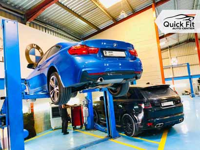 BMW PinPoint Testing going at Quick Fit Auto Center
