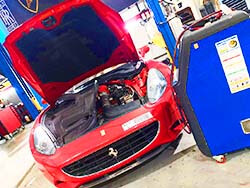 AC Repair And Service For Ferrari By Ferrari Specialist At Quick Fit