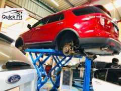 Ford Suspension Issue Detected after Inspection Service