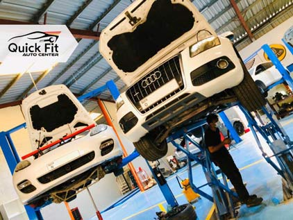 German Cars Repair After Complete Inspection at Quick Fit
