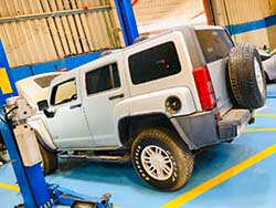 Minor Service For Hummer H3 At Quick Fit Auto Center