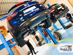 Infiniti Suspension Checkup at Quick Fit Auto Center