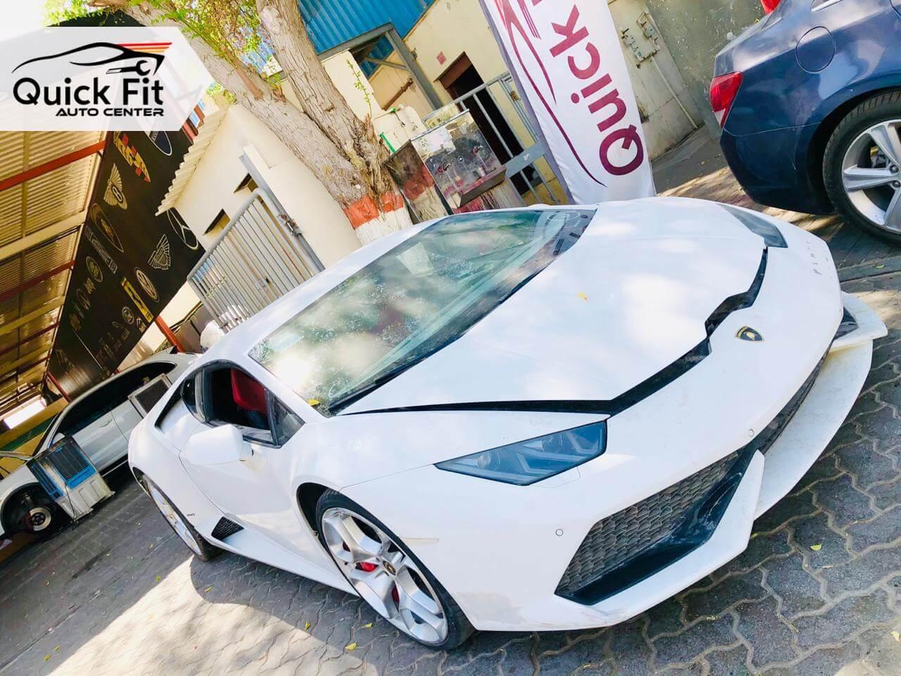 Lamborghini Huracan Accident Repair and Restoration