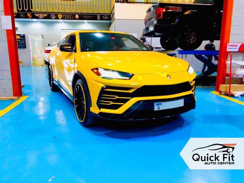 Lamborghini Urus Minor Service