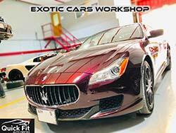 Maserati Quattroporte For Inspection And Minor Service