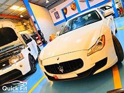Maserati Quattroporte For Brakes And Minor Service