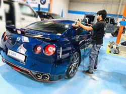 Nissan GTR Detailing And Polishing At Quick Fit Auto Center