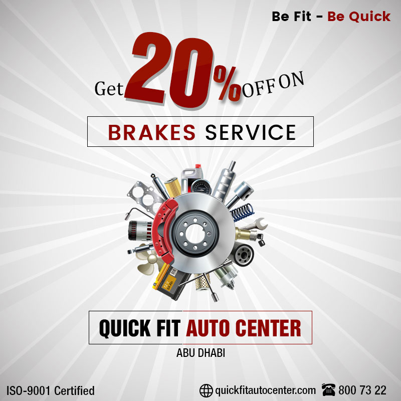 Brakes Service offers 20 %