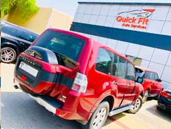 Mitsubishi visited Quick Fit for Pre-Purchase Inspection