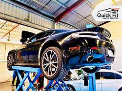 Aston Martin Vantage Visited Quick Fit Auto Center For Minor Service