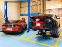 #1 Mustang Workshop Abu Dhabi