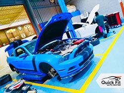 Mustang Repair and Service Abu Dhabi