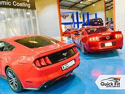 Mustang Workshop Abu Dhabi