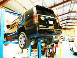 Cadillac Brakes and Suspension Service at Quick Fit Auto Center