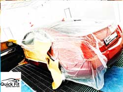 Cadillac Body Paint and Polishing at Quick Fit Auto Center