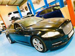 Jaguar XJL Oil Leakage Fixing At Quick Fit Auto Center