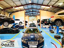 Jaguar Specialists available at Quick Fit Auto Center