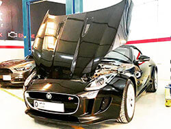 jaguar Full Inspection and Engine Oil Change at Quick Fit Auto Center