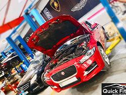 Jaguar Major Service at Quick Fit Auto Center