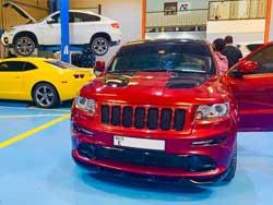 Jeep workshop Abu Dhabi