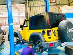 Jeep repair Abu Dhabi