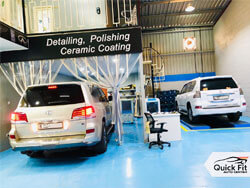 Lexus Detailing and Polishing at Quick Fit