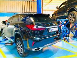 Lexus Suspension and Minor Service at Quick Fit