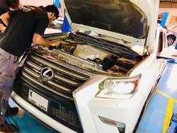 Lexus Major Service at Quick Fit Auto Center