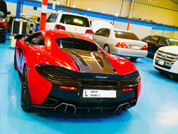 McLaren Pre-Purchase Inspection going at Quick Fit