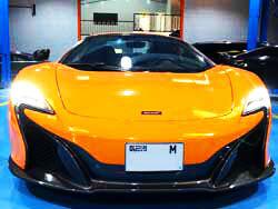 McLaren Brakes Service going at Quick Fit Auto Center