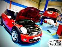 Mini Cooper repair workshop Abu Dhabi