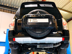 Mitsubishi Brakes Checkup and Service at Quick Fit