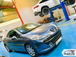 Peugeot repair workshop abu dhabi