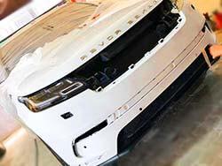 Body And Bumper Repair And Repaint For Range Rover Velar