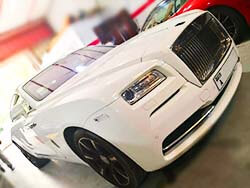 Rolls Royce Emblem Electrical Repair At Quick Fit Auto Center