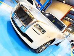 Major Service For Rolls Royce At Quick Fit Auto Center