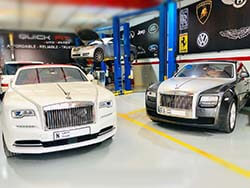 Different Models Of Rolls Royce Getting Repair Service At Quick Fit
