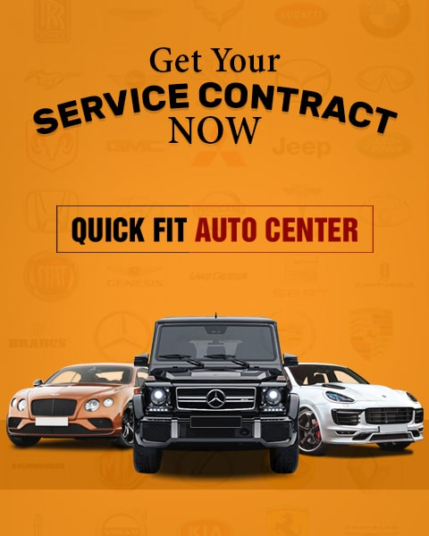 Service Contract Banner mobile view