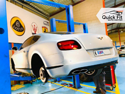 Bentley Suspension Repair and Service at Quick Fit Auto Center