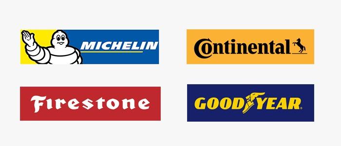 Major Car Tyres Brands