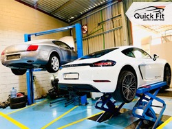 Car Tyres Checkup and Gearbox Inspection at Quick Fit