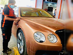 Bentley Scratch Repair And Paint Restoration at Quick Fit