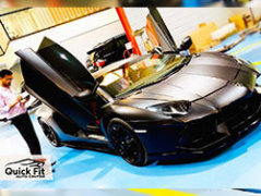 Lamborghini Visited for Minor and Steering Service