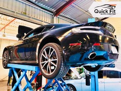 Car Brake and Engine Inspection at Quick Fit