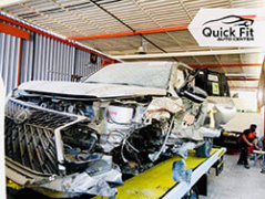 Major Accident Repair For Lexus, Complete Chasis Repair
