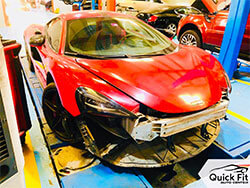 McLaren Maintenance And Body Work At Quick Fit Auto Center