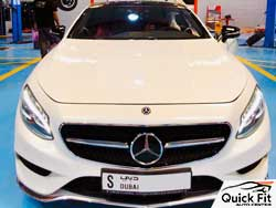 Mercedes Auto Detailing and Inspection at Quick Fit