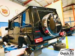Mercedes Major Service at Quick Fit Auto Center